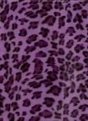 Purple Cheetah Plush