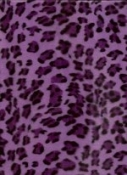 Purple Cheetah Plush