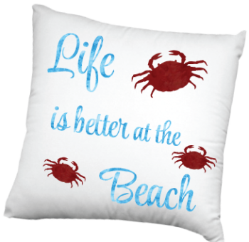 Life is better at the Beach with crabs