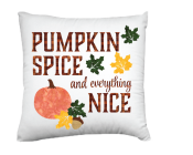 Pumpkin Spice and everything Nice Pillow Kit
